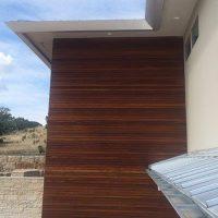 high end rain gutter installation