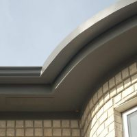 rounded gutters