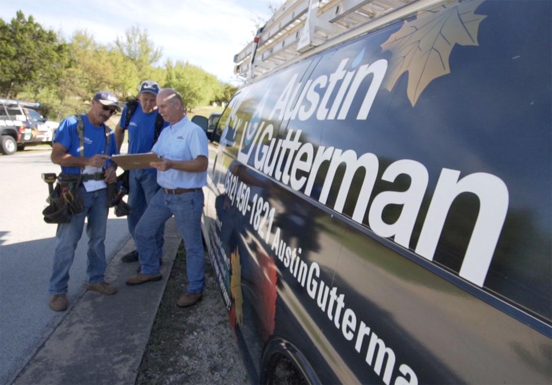 Rain Gutter Installers Near Me - Austin Gutterman